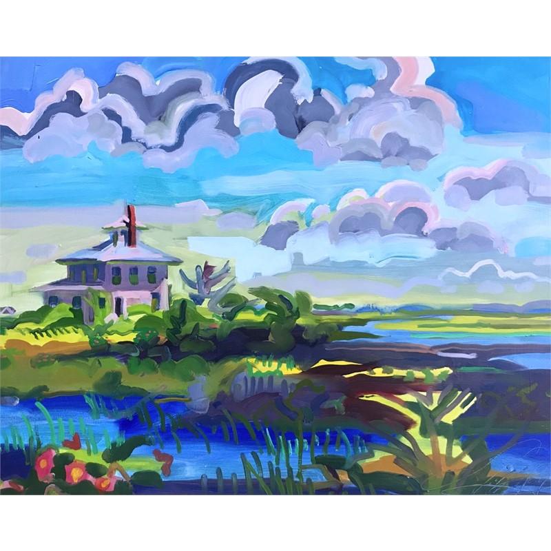 Pink House on Marsh