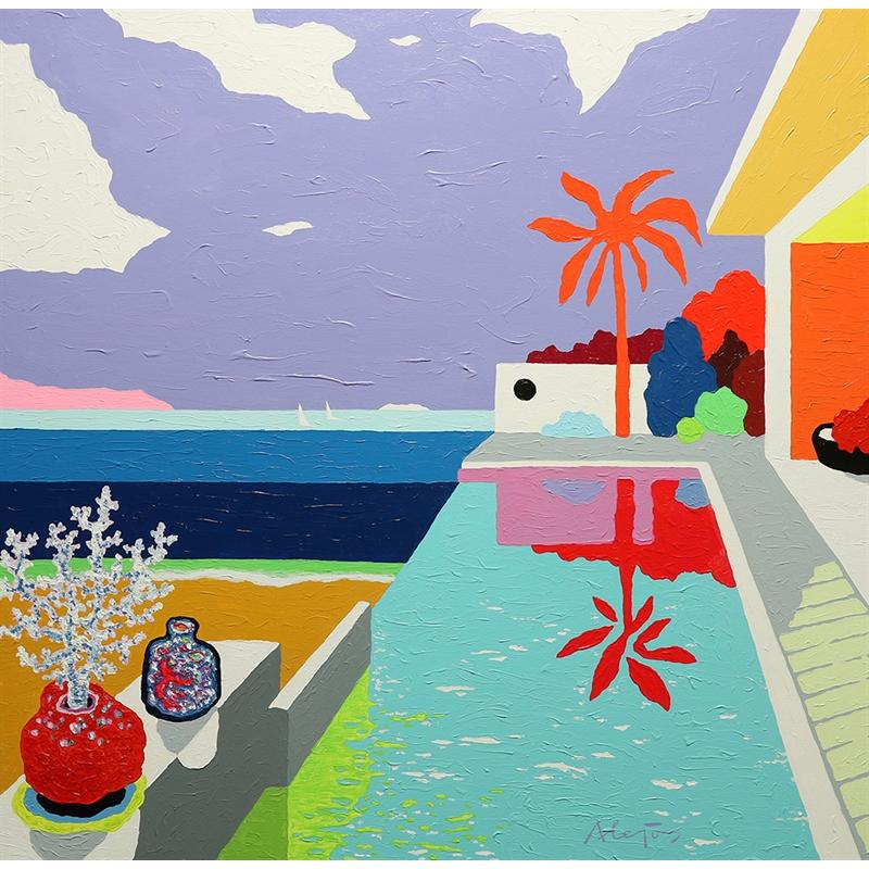 Balcony to the Sea by Alejos Lorenzo