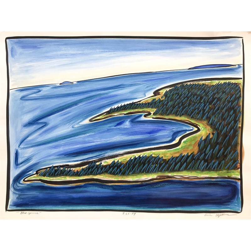 Blue Spruce, 9/26/89