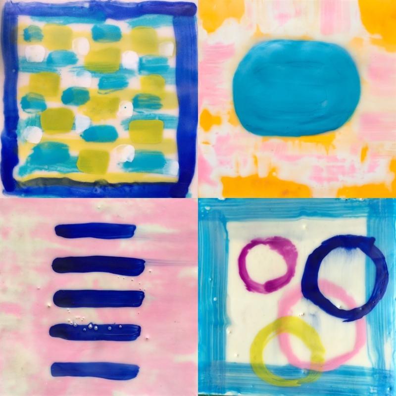 Mini Pairing VIII- Paintings Sold Separately