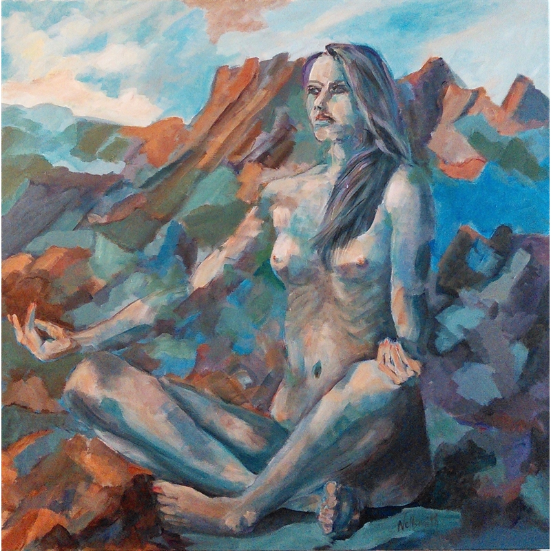 Sometimes She is a Rock by Bruce Nellsmith