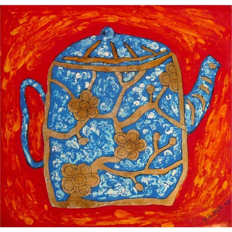 Blue Teapot, 2008
