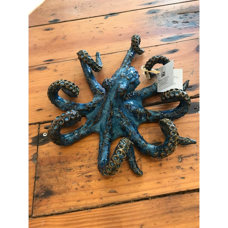 Blue Octopus (small), 2019