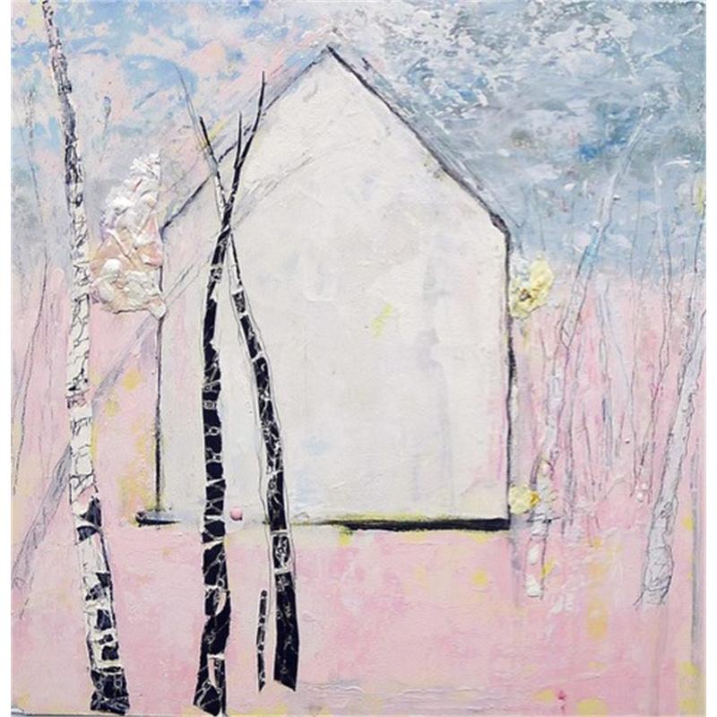 Pink Birches