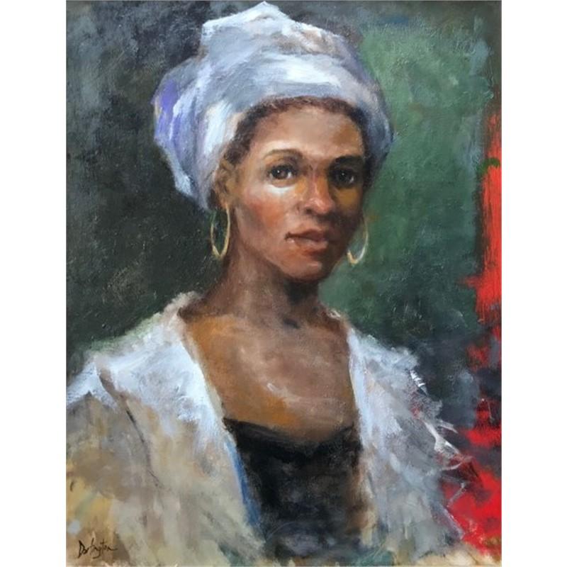 Woman With White Turban, 2018