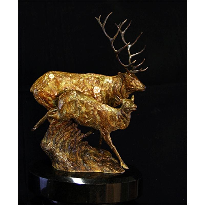 The Gathering Elk (26/250)