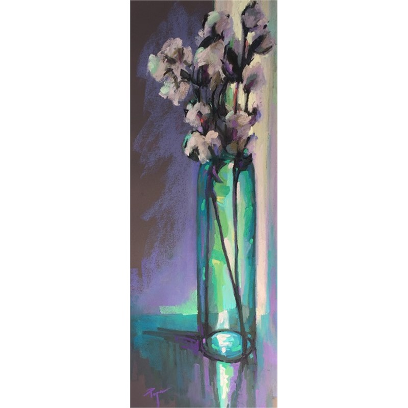 Cotton & Teal Vase