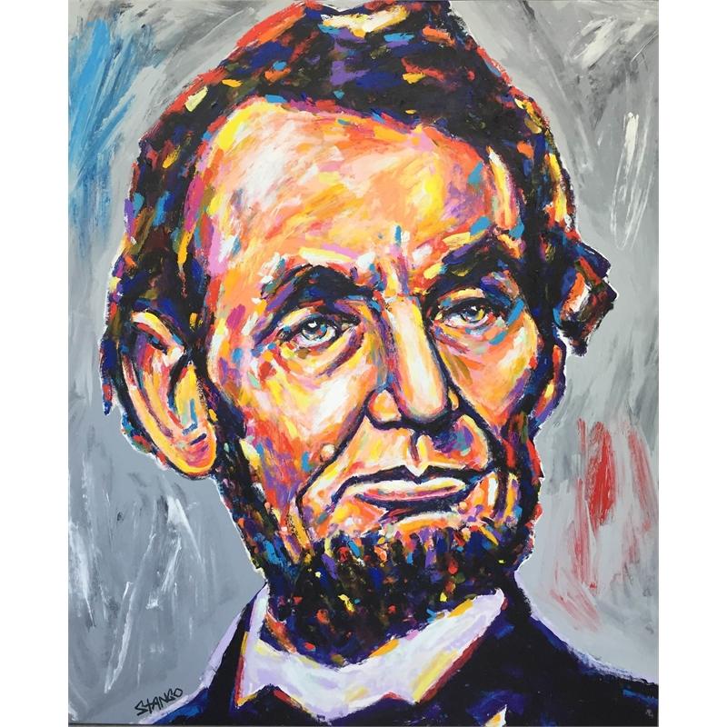 Presidential Portrait Series: Abe