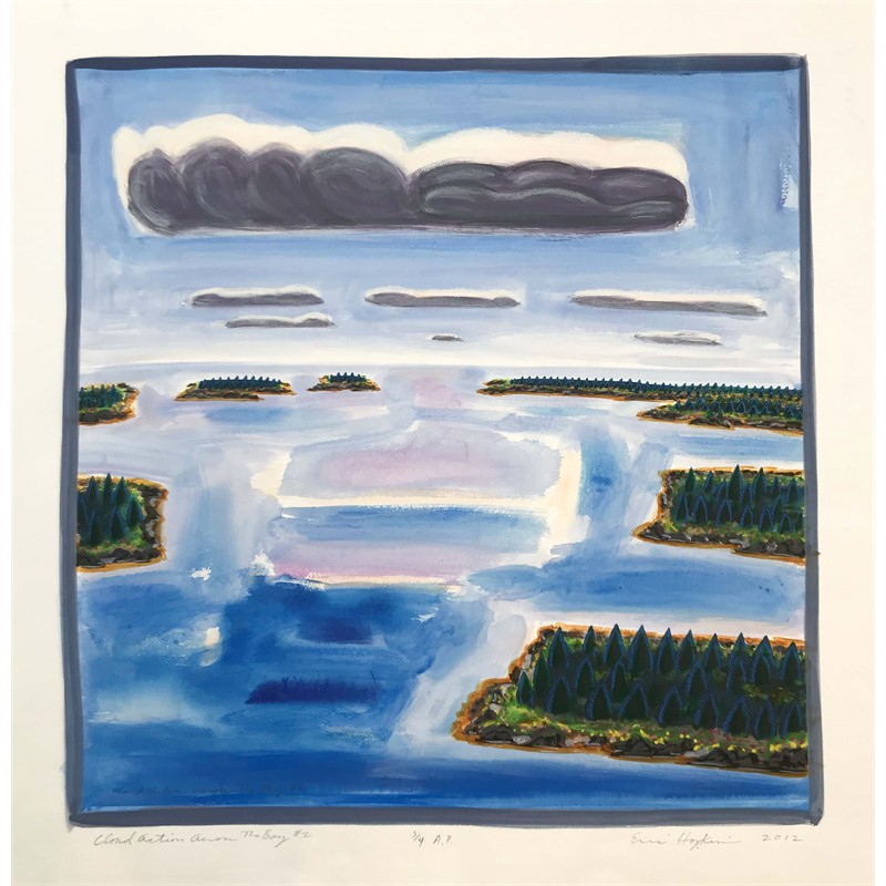 Cloud Action Across The Bay #2 (Proof 3/4), 2012