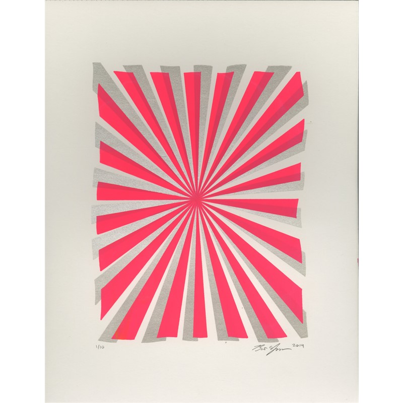 Joy Beams (Pink and Silver)