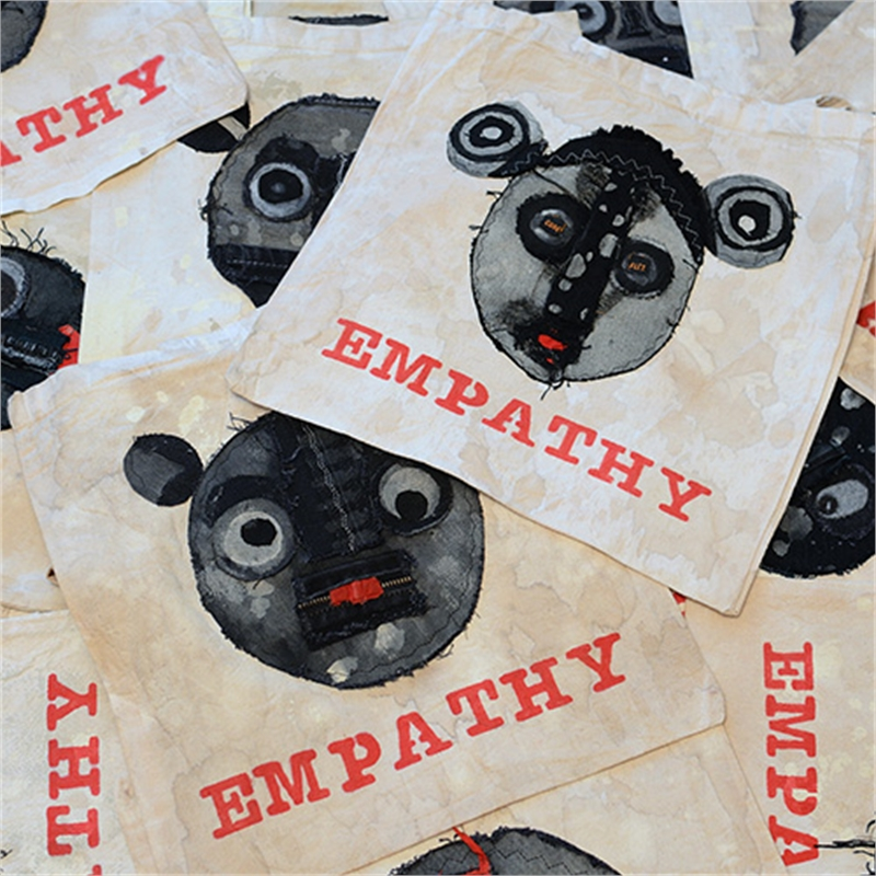 Empathy 1909 | Wearable Tote Bag Art