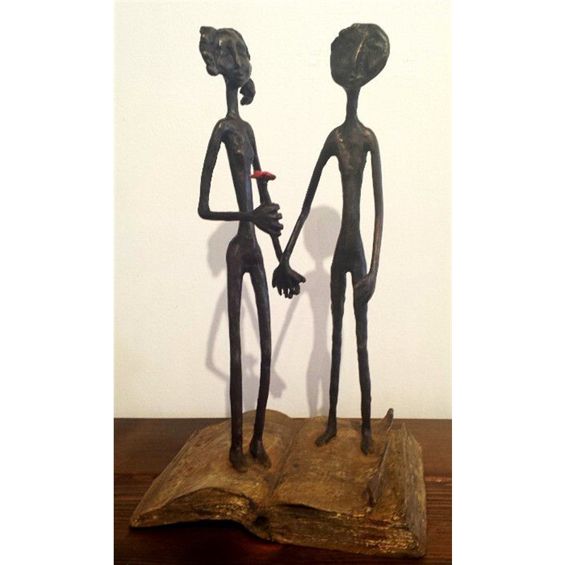 Couple On Book, 2014