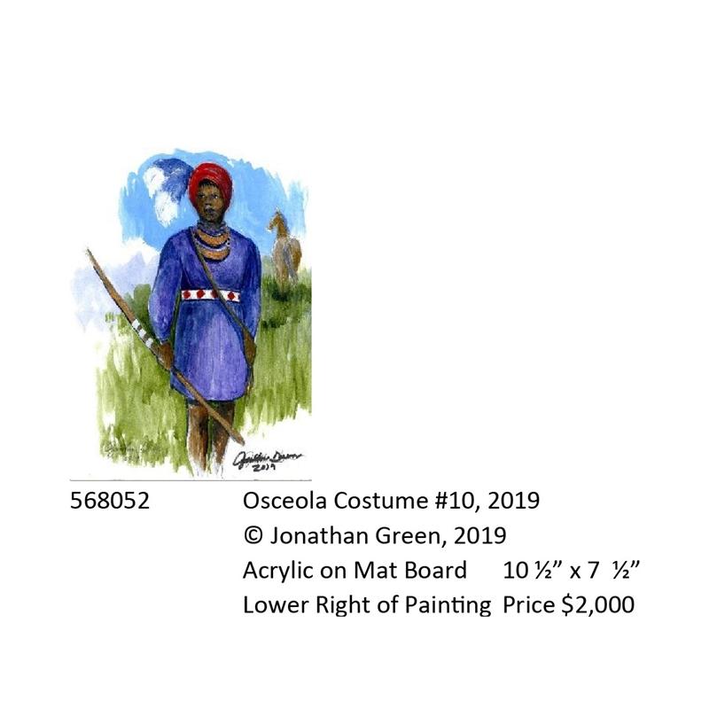 Osceola Costume #10, 2019