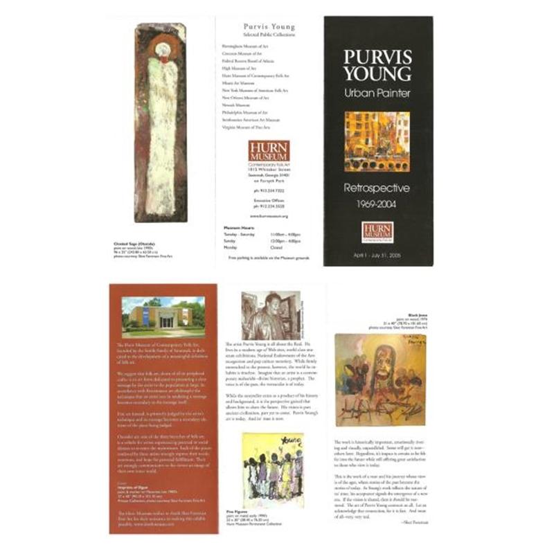 Hurn Museum Retrospective Brochure