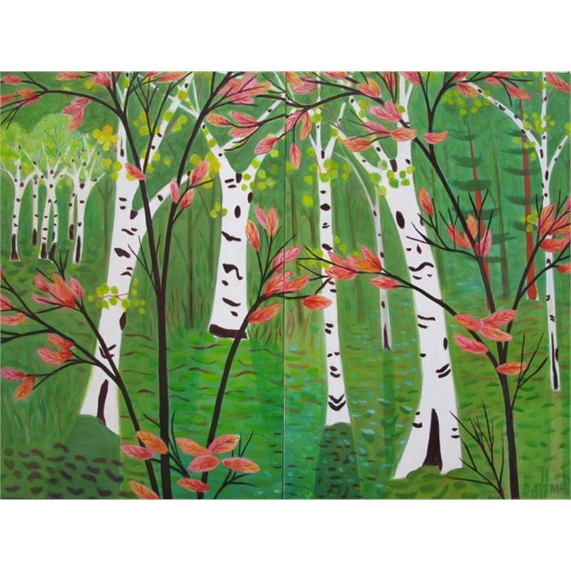 Birches & Maples