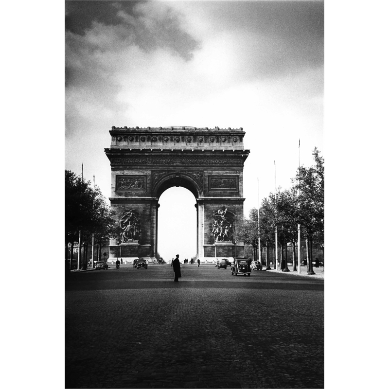 No. 029 Arc de Triomphe, Paris, France, 1950