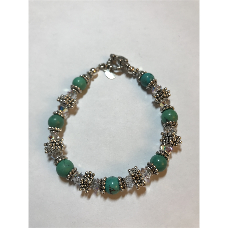 Signature In Turquoise by Shoshannah Weinisch