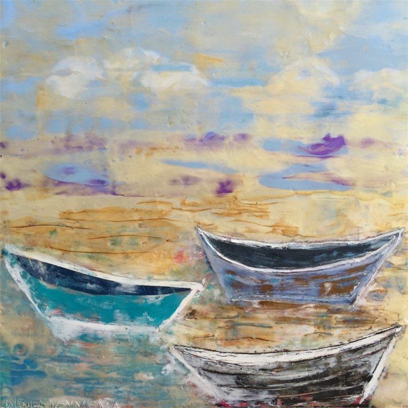 Boat Series: Three Dories