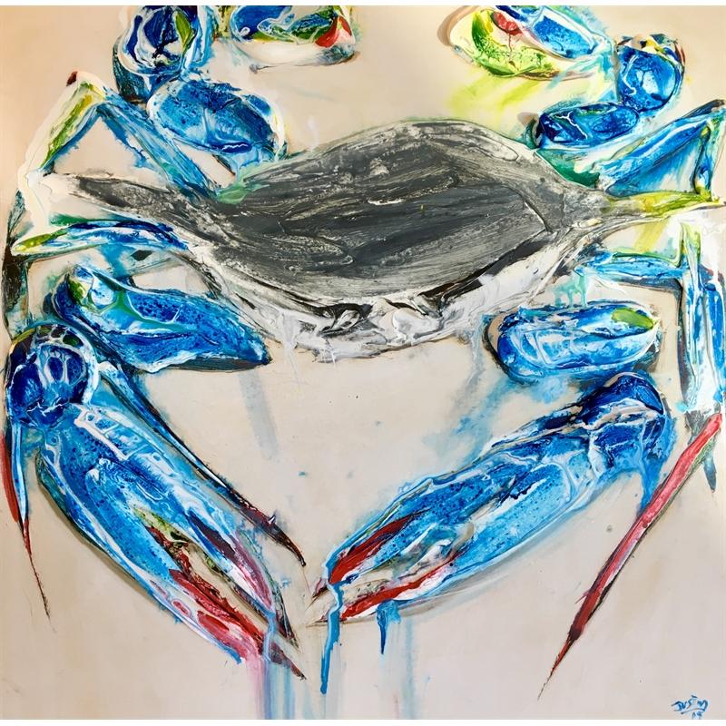 BLUE CRAB HPAE 26/50 by Justin Gaffrey