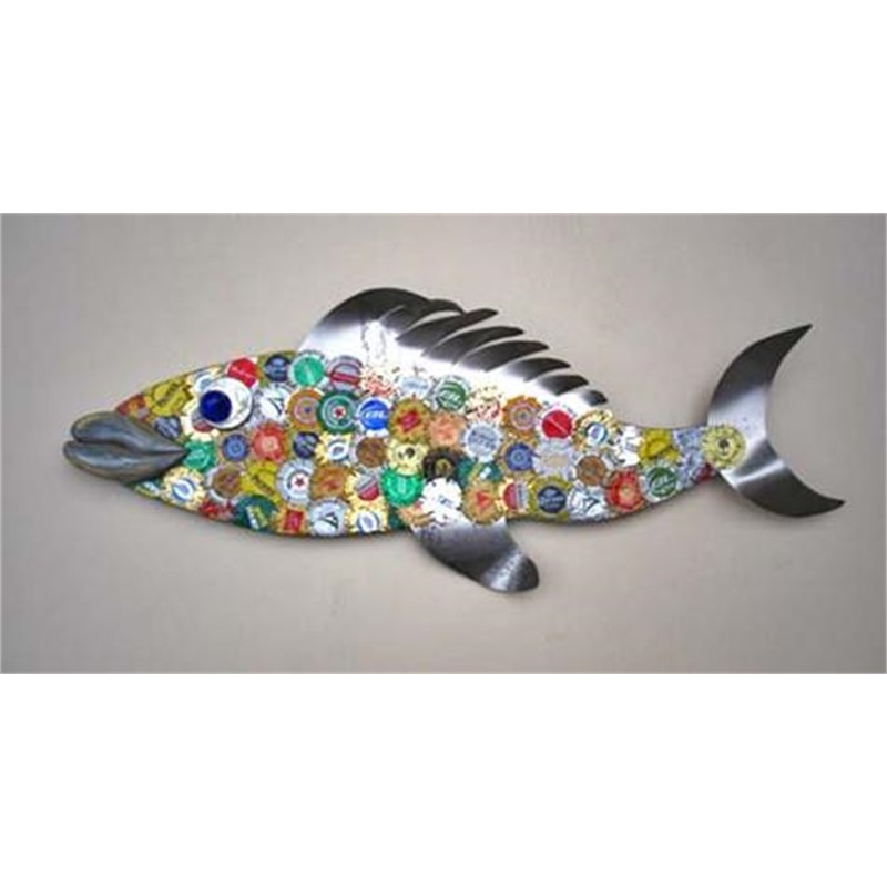 Brewster   Beer Cap Fish