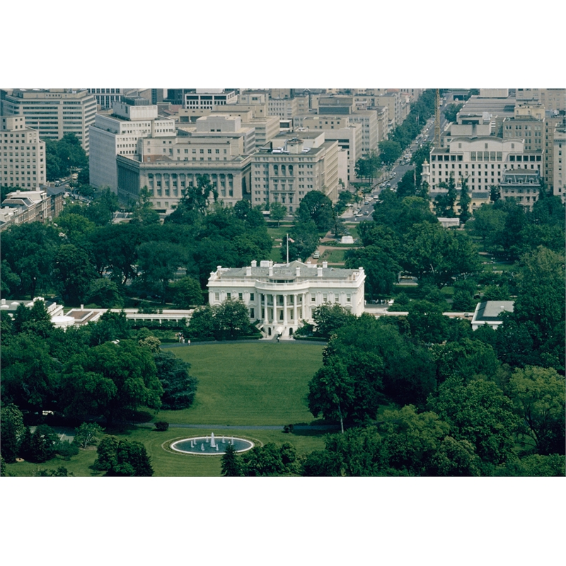White House - View from the Washington Monument