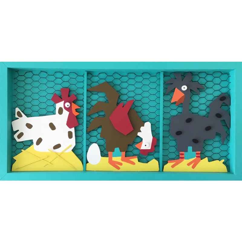 Three Chickens, 2020