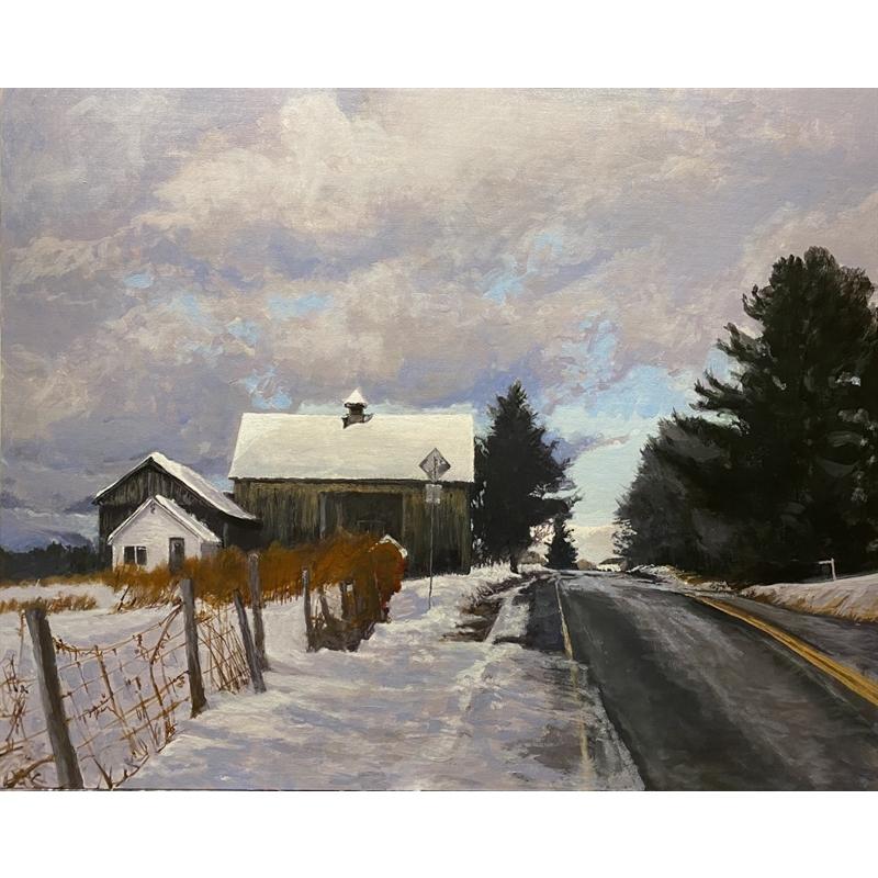 Vermont Road in Winter, 2020