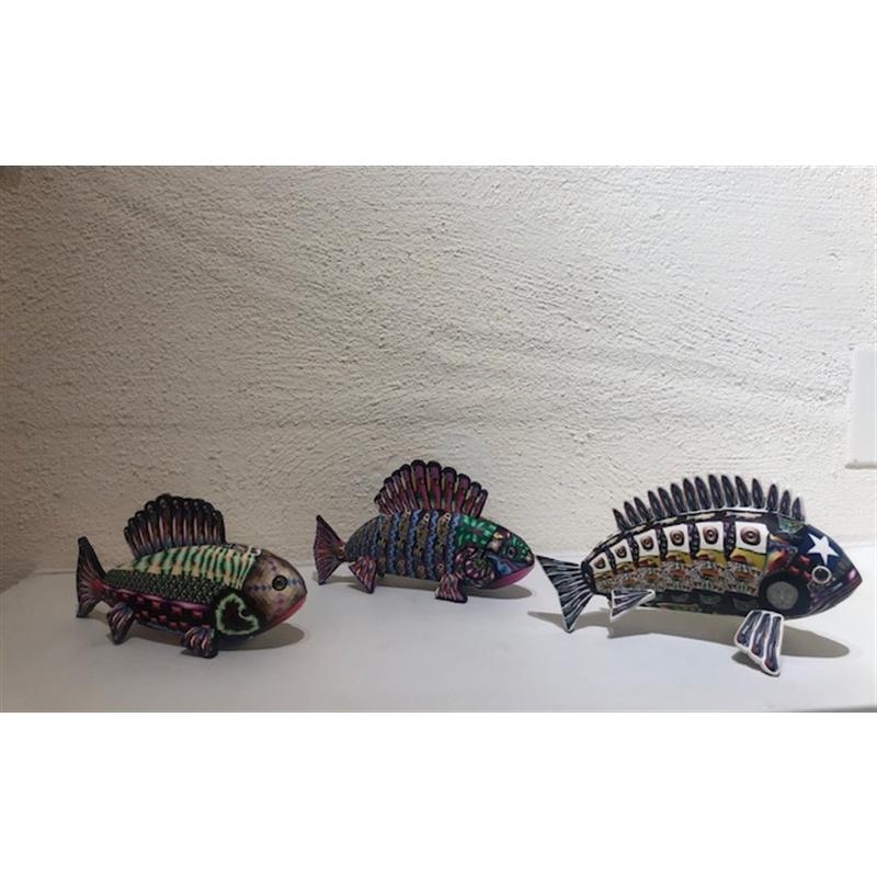 School of three fish, 2020
