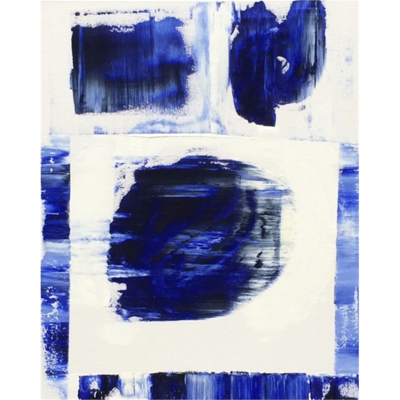 Blue-White No. 13, 2014