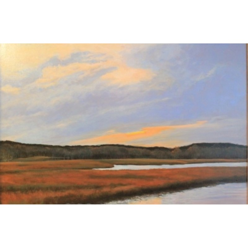 Salt Marsh at Wells, Maine