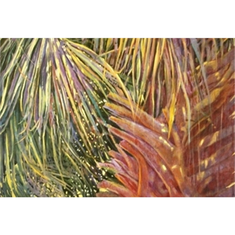 Layered Palm by Patricia Lusk