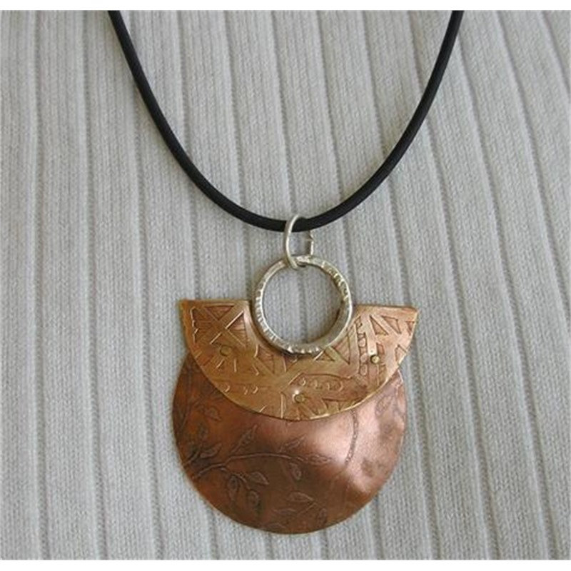 Red Purse Pendant by Duffy Brown