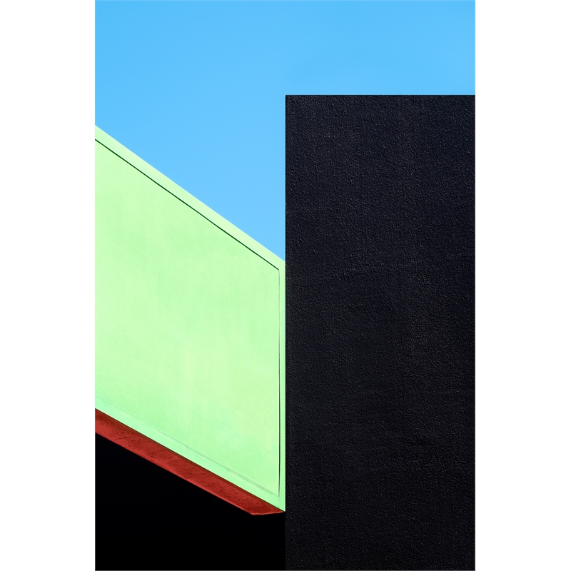 Green, Black and Blue 2 (3/8), 2019