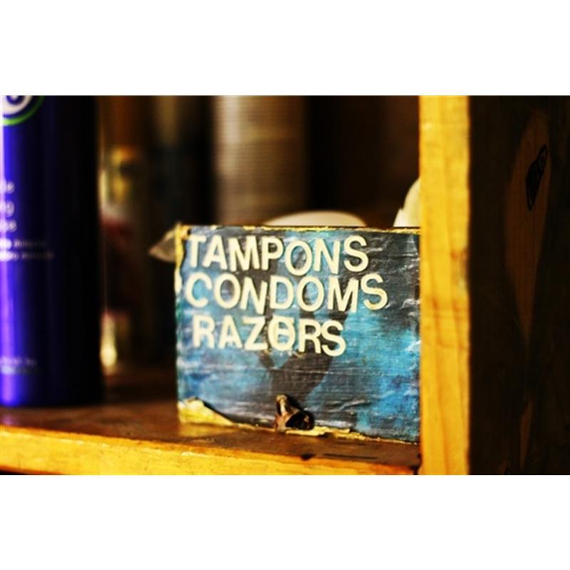 """Condoms, Razors, Tampons"" by Jenny Olsen"