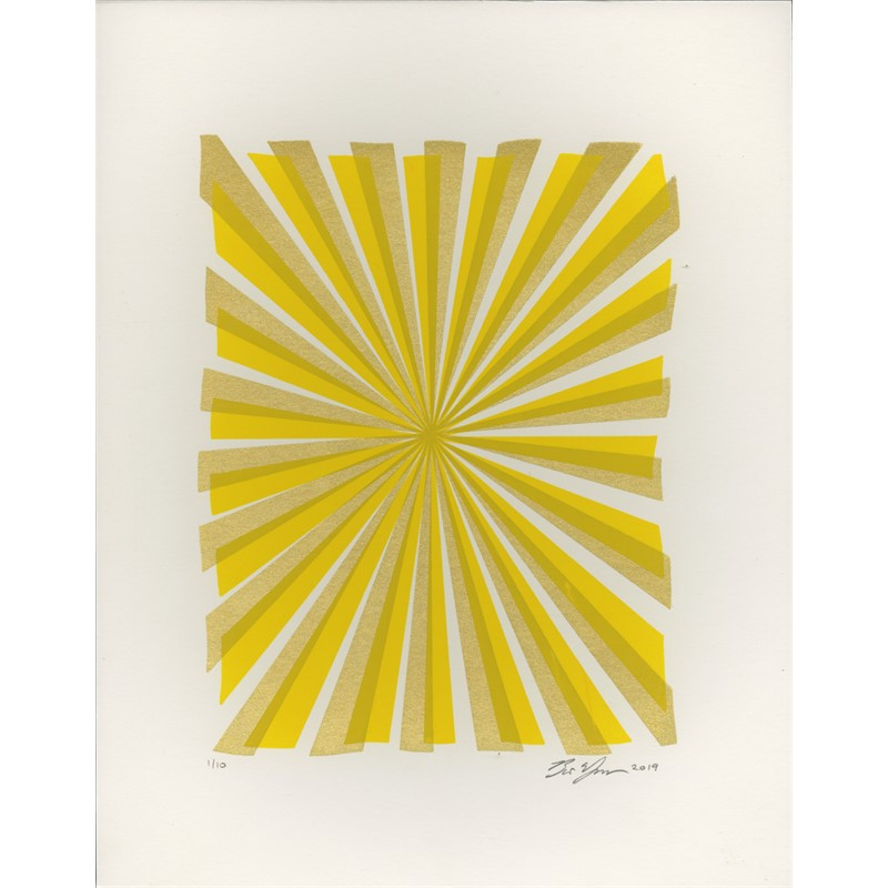 Joy Beams (Yellow and Gold)