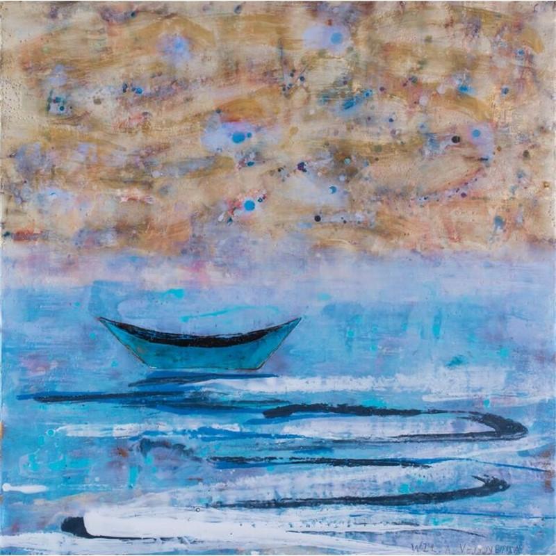 Boat Series: Turqoise Dory