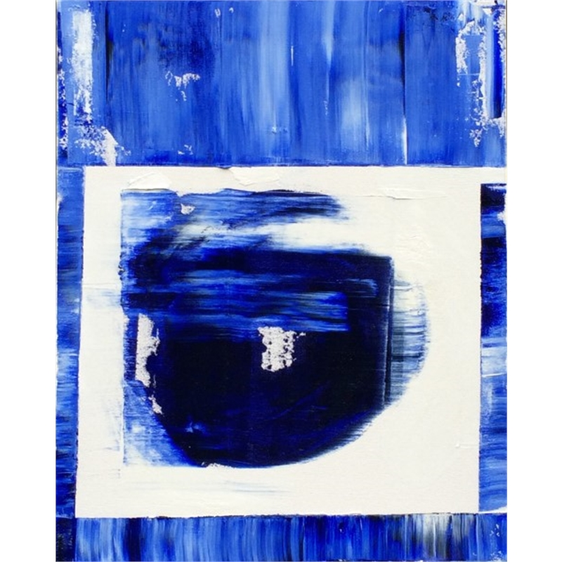 Blue-White No. 14, 2014