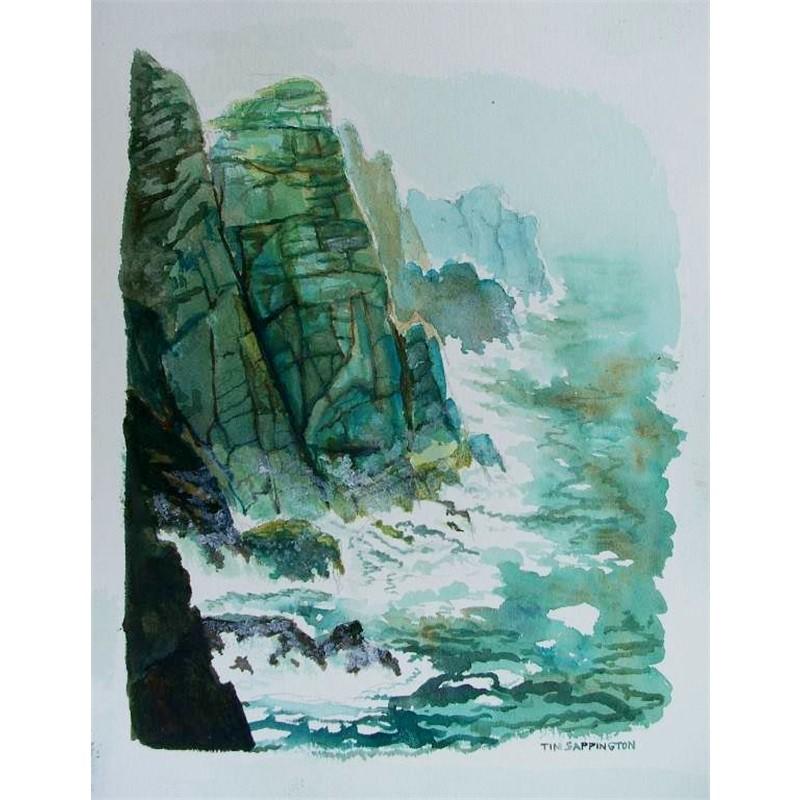 Cliffs in Storm