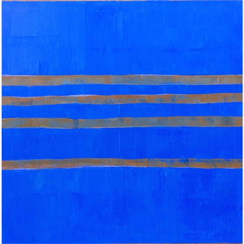 Blue-Sienna (Four), 2014
