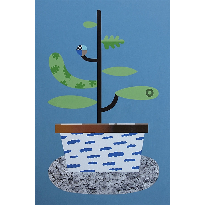 Simplexity Plant #4 (Blue)