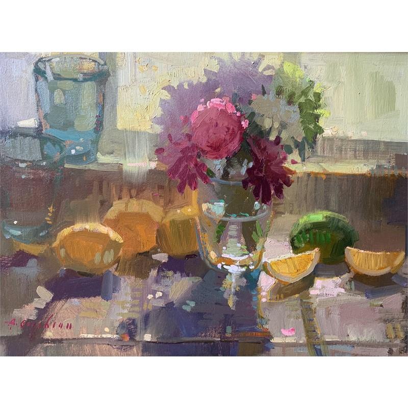 Kitchen Window, Lemons, 2019