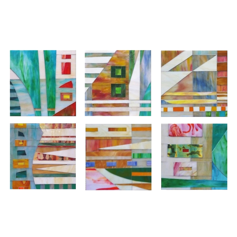 Excursion (6 Panels) by Mary Borgen