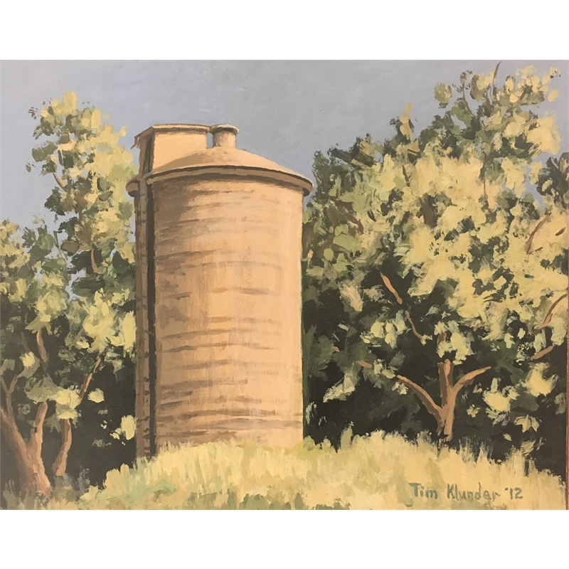 Old Cement Silo