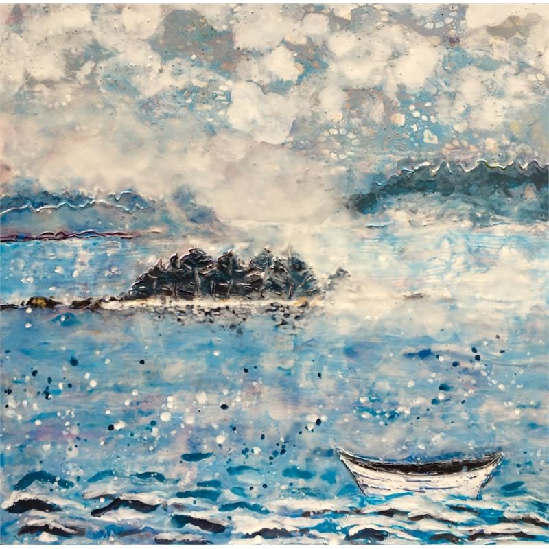 Islands and Ocean Series: Morning Mist #3