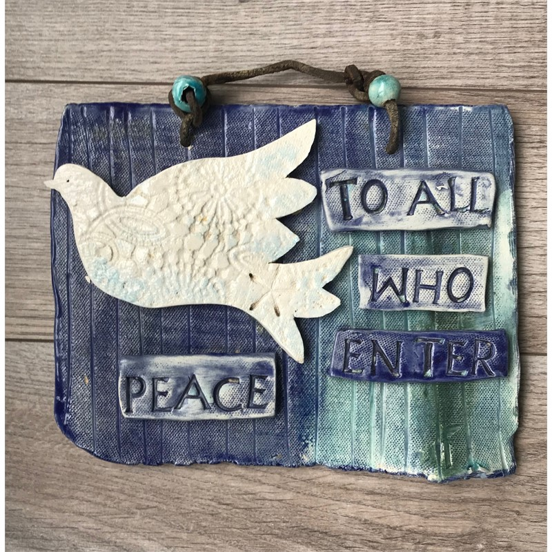Peace Plaque, 2019