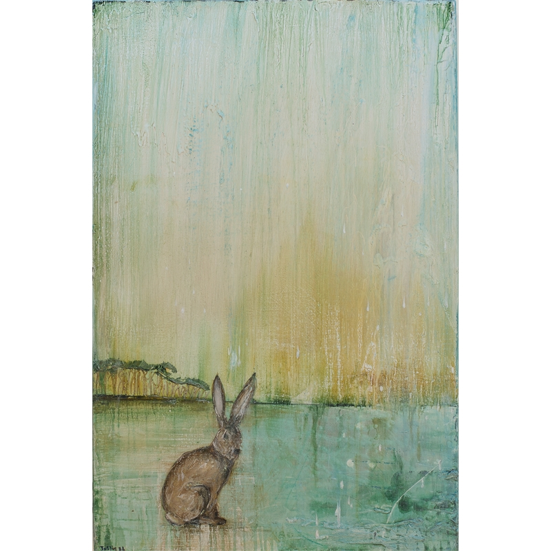 RABBIT LAKESCAPE by JUSTIN GAFFREY