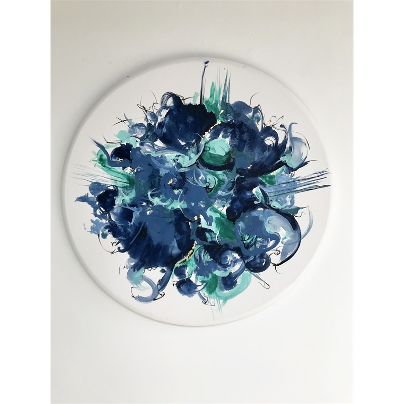 Blue Swirls, 2019