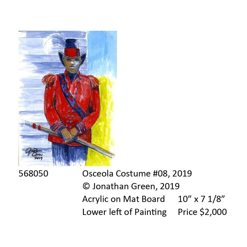Osceola Costume #8, 2019