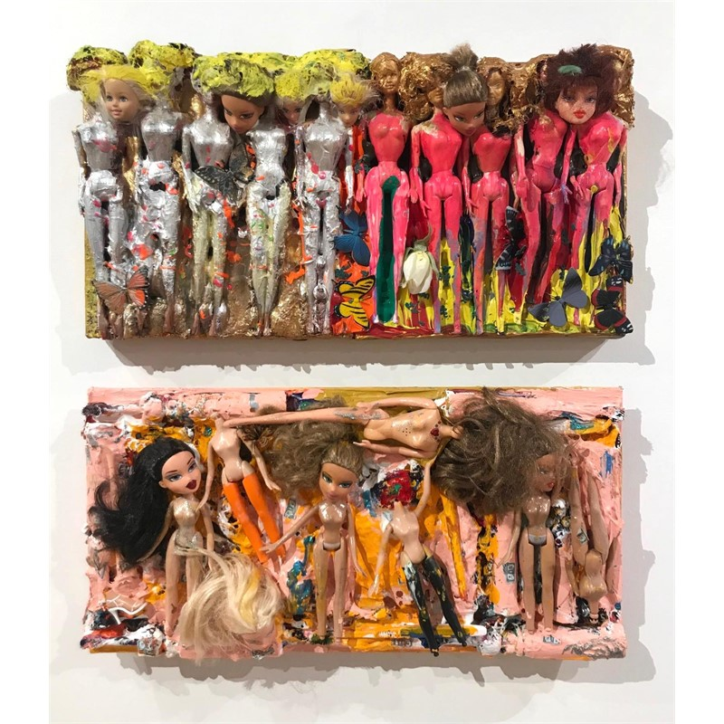 Barbies Galore, Diptych