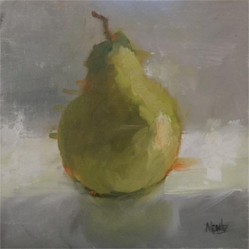 Morning Pear, 2018